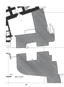 Fig. 1: Porte d'Ischaeli (d'après Hill, Jacobsen, Delougaz 1990, pl. 98)