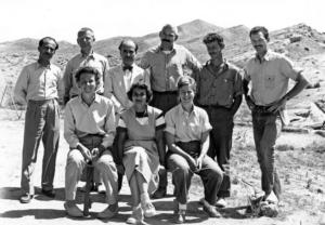 L'équipe de Jarmo, 1954-1955