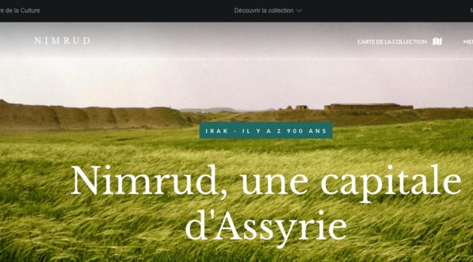 Nimrud, site en ligne