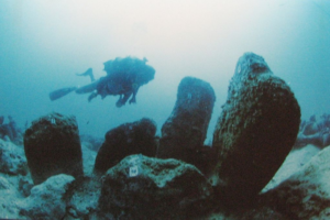 Site néolithique (PPNB) d'Atlit Yam, 6900 - 6300 av. J-C. (Hanay, CC-BY-SA 3.0)