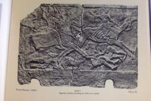 Bas relief de Nimrud, guerre contre les Arabes (Barnett 19§2)