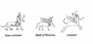 Centaure et lion-centaure (d'après Black et Green 1992)