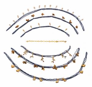 Figure 4 : Nouvelle restitution du diadème de Puabi