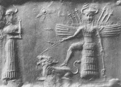 La déesse Ištar