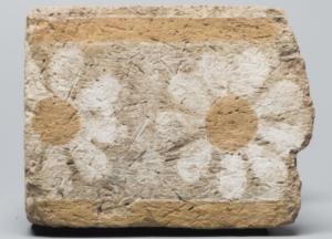 Brique glaçurée de Khorsabad, Musée du Louvre (N 8121)