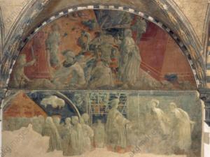 Paolo Uccello, Il diluvio, 1446 ca., Chiesa di St. Maria Novella, Firenze