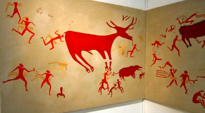 La peinture au Proche-Orient ancien : 1re partie, les débuts