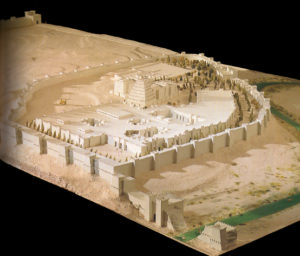 Maquette de Kuyunjik et de la partie nord de Ninive