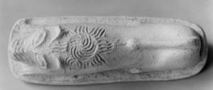 Moule à forme de lion, palais de Mari (Margueron 2004)