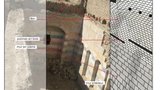 Techniques et vocabulaire de  la construction dans la maison traditionnelle à Damas